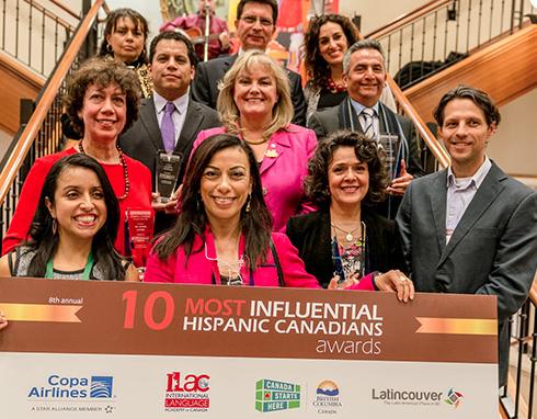 Los 10 Hispanos más Influyentes en Canadá 2014