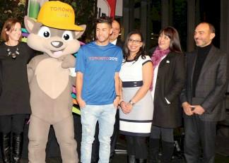 Pachi, con algunos de los invitados especiales