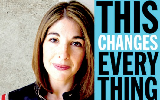 Naomi Klein, autora del libro This Changes Everything