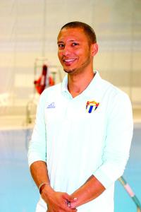 El cubano José Antonio Guerra, múltiple medallista panamericano de clavados. Foto: Freddy Velez