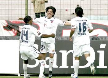 Liga de Quito golea 4-1 a Sporting Cristal