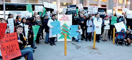 Ottawa no ha restablecido los servicios de salud a todos los refugiados