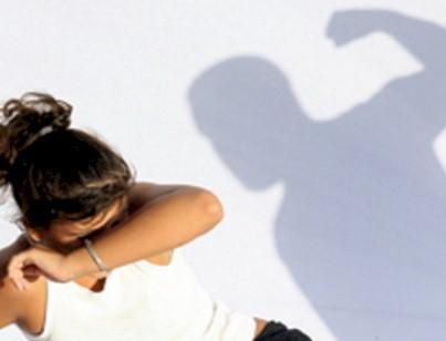 Víctima de la violencia familiar