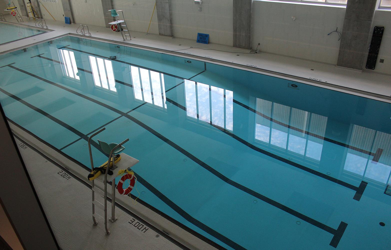 Una piscina para relajamiento