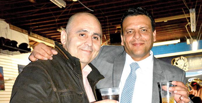 Oscar Avendaño y Leo Castaño