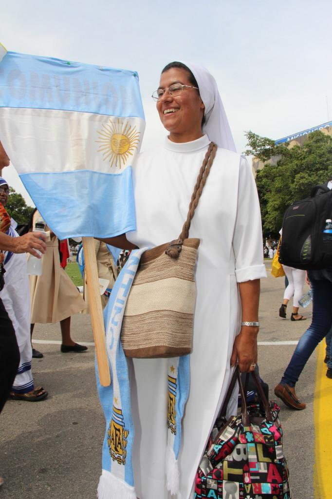 Religiosa argentina misionera. Foto: F. Velez