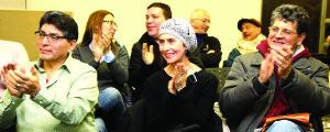 La asistencia disfrutó de la velada de principio a fin. Fotos: F. Velez