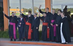 Despedida del papa (2)