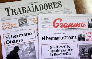 """FIDEL CASTRO RESPONDE A OBAMA QUE CUBA NO NECESITA REGALOS DEL """"IMPERIO"""""""