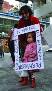 En Toronto los colombianos también han apoyado el acuerdo de paz.