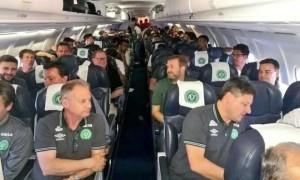 A bordo de la aeronave viajaban 72 pasajeros, jugadores y miembros de la tripulación.