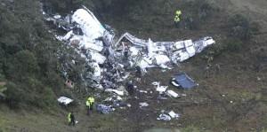 El avión siniestrado, hoy sujeto a una investigación.