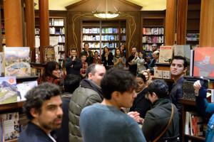 Una verdadera fiesta literaria sin precedentes se vivió en la librería Ben McNally.