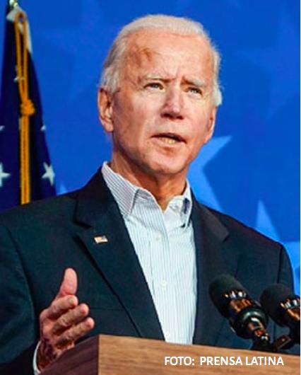 Biden se reunió con asesores presidenciales