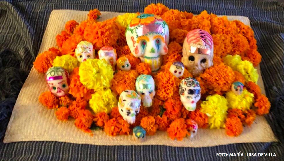 Continúan las celebraciones virtuales de Día de Muertos