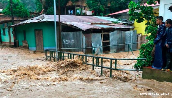 Convocan a apoyar donativos para damnificados en Honduras