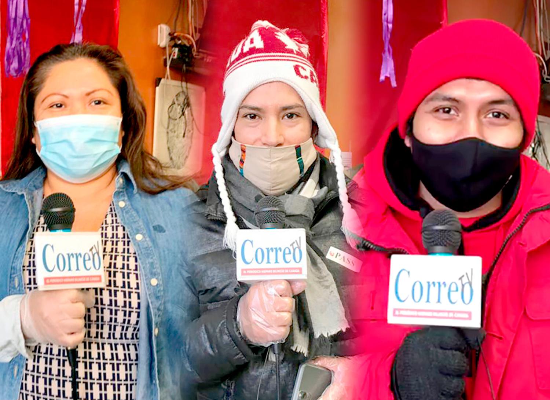 Latinos entrevistados por Correo muestran dudas de ponerse la vacuna