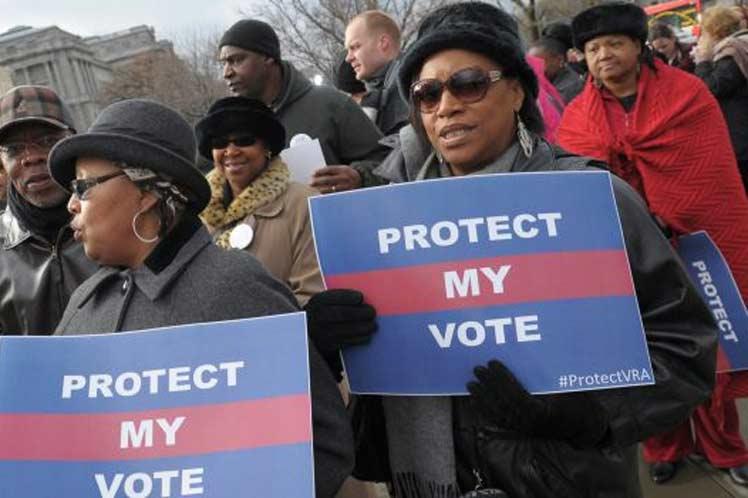 Republicanos en Estados Unidos intentan restringir derecho al voto de las minorías