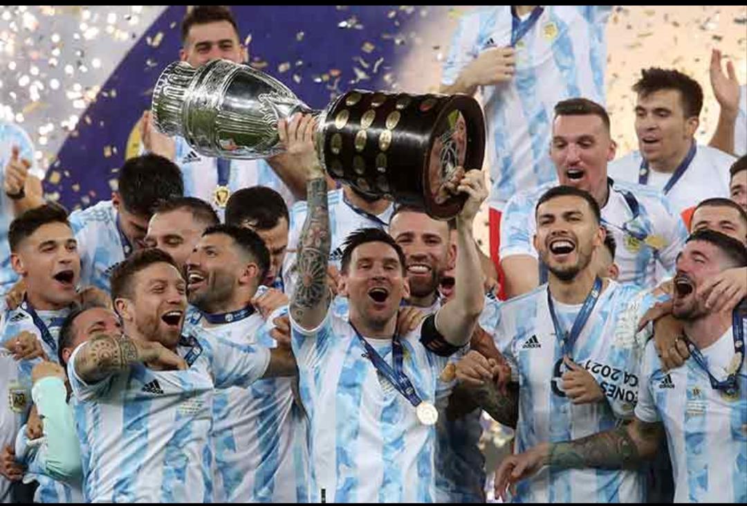 Argentina campeón 28 años después