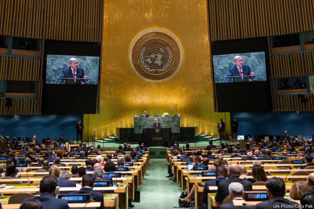 Titular de ONU pide acciones para evitar catástrofe climática