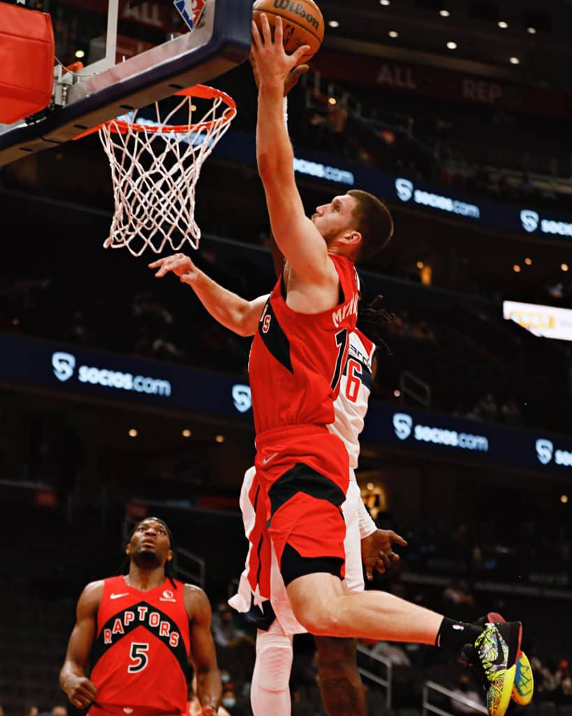 Los Toronto Raptors con la franquicia de jugadores más internacionales